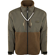Drake Waterfowl Men's Guardian Flex Sherpa Fleece Eqwader Full Zip Hunting Jacket