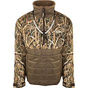 Drake Waterfowl Men's Guardian Flex Double Down Eqwader Quarter Zip Hunting Jacket