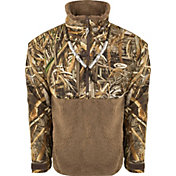 Drake Waterfowl Men's MST Guardian Flex Sherpa Fleece Eqwader ¼ Zip