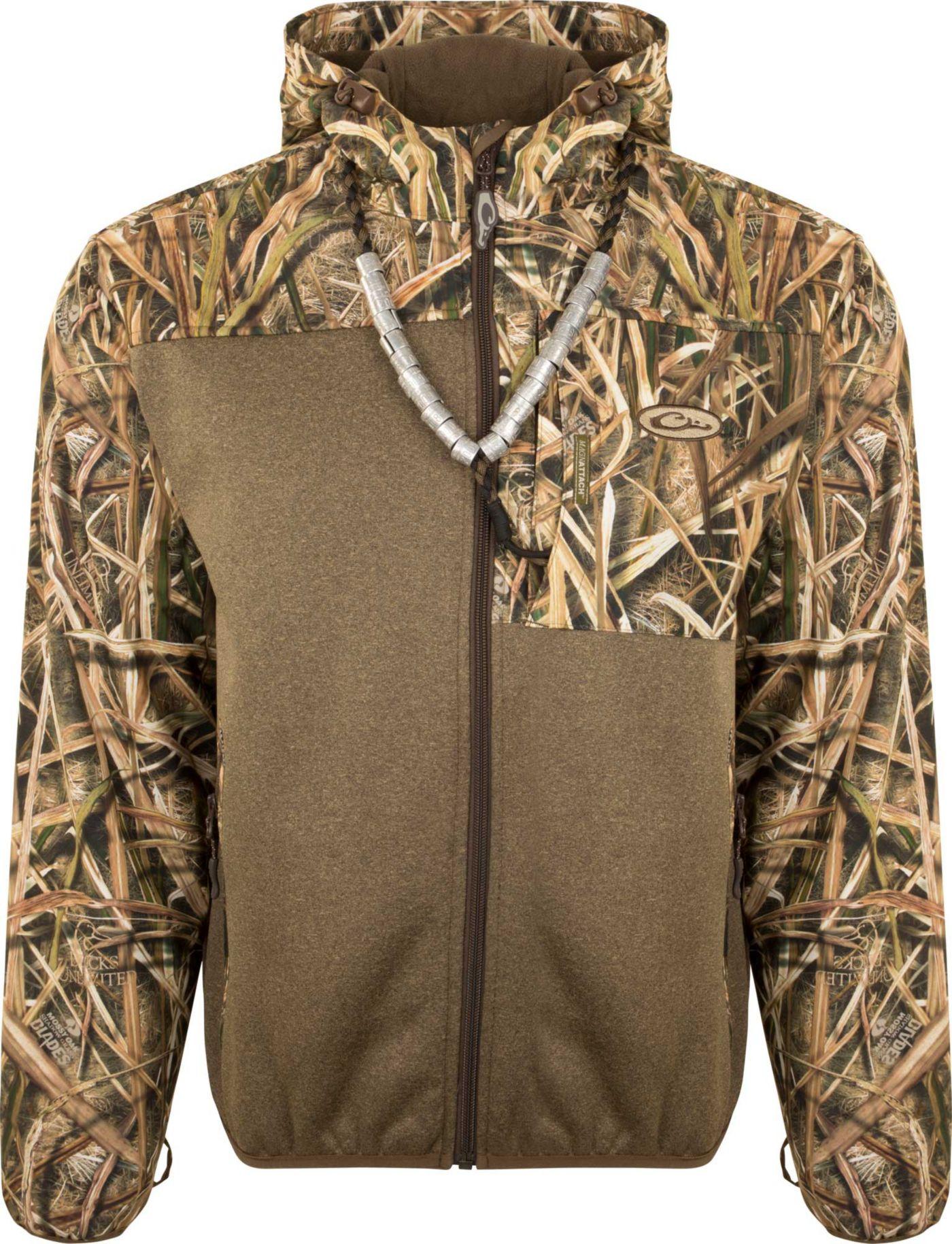 Drake Waterfowl Endurance Hybrid Liner Hunting Full Zip Hooded Hunting Jacket