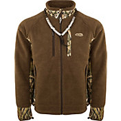 Drake Waterfowl Men's Sherpa Fleece Hybrid Liner Full Zip Hunting Jacket