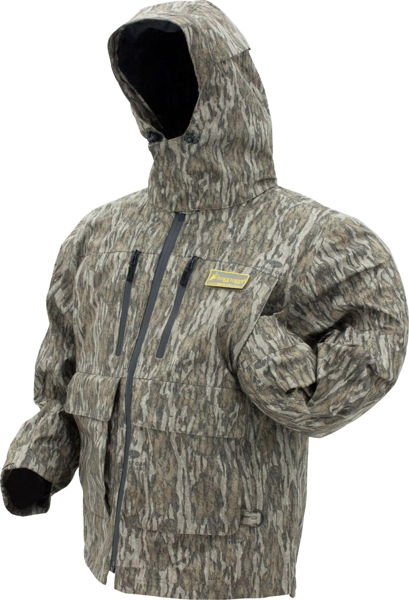 frogg toggs Men's Pilot II Waterfowl Jacket, Size: Large, Mossy Oak Bottomland thumbnail