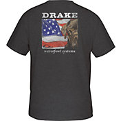 Drake Waterfowl Men's Patriotic Lab T-Shirt