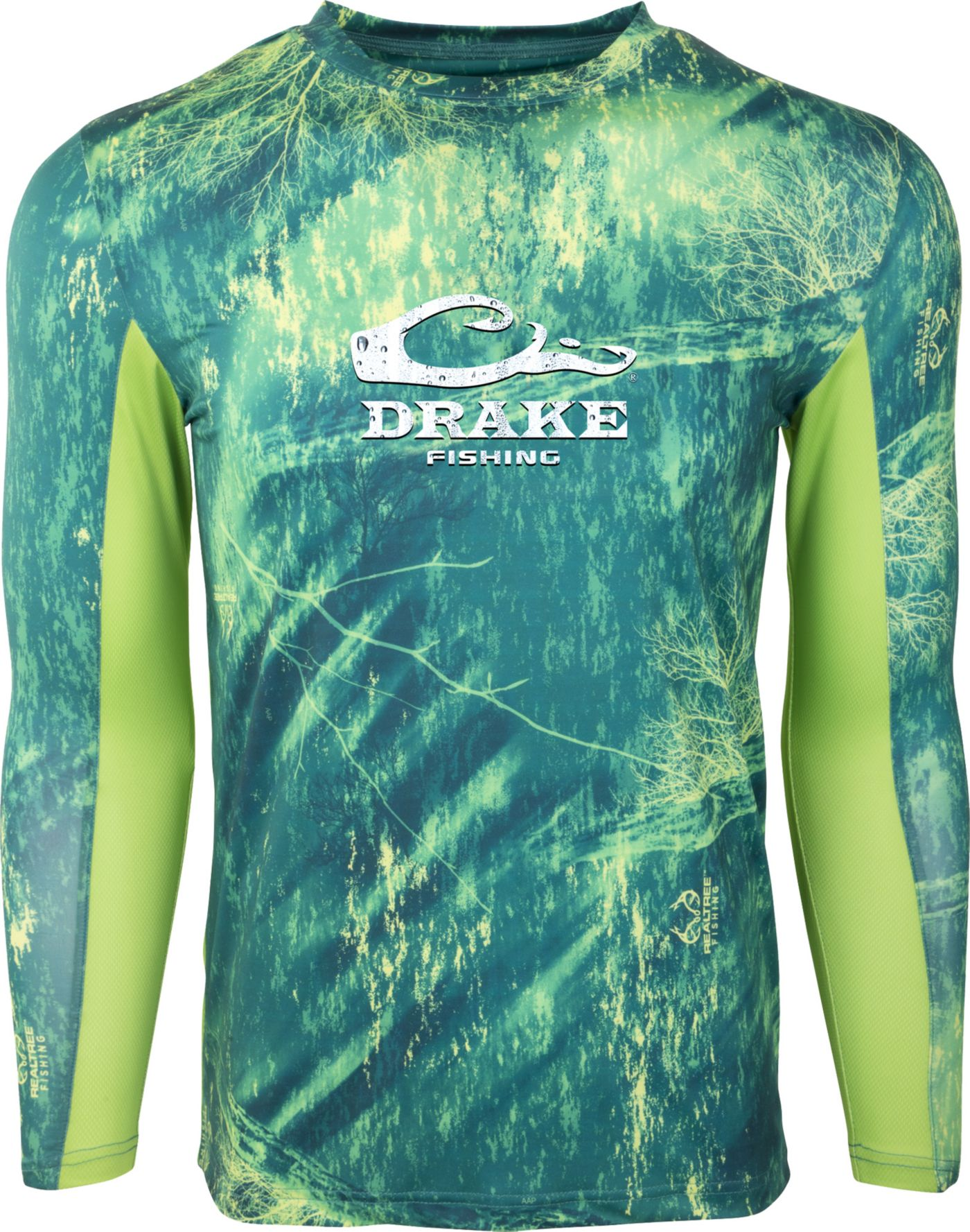 Drake Waterfowl Men's Shield4 UPF Long Sleeve Shirt