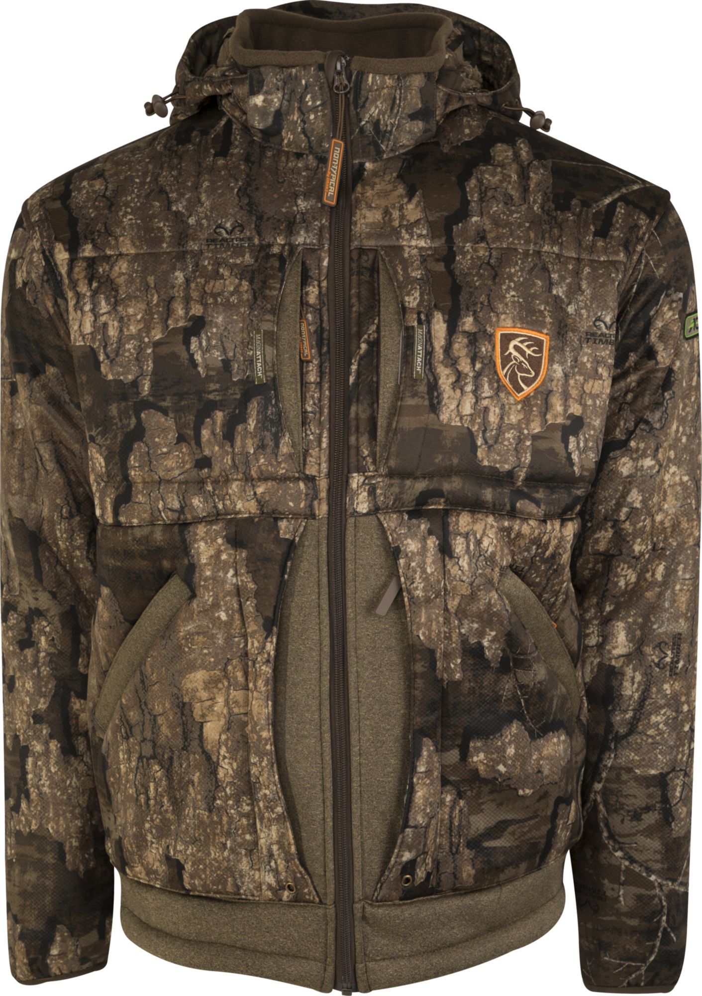 Drake Waterfowl Men's Non-Typical Stand Hunter's Silencer Hunting Jacket with Agion Active XL, Size: Small thumbnail