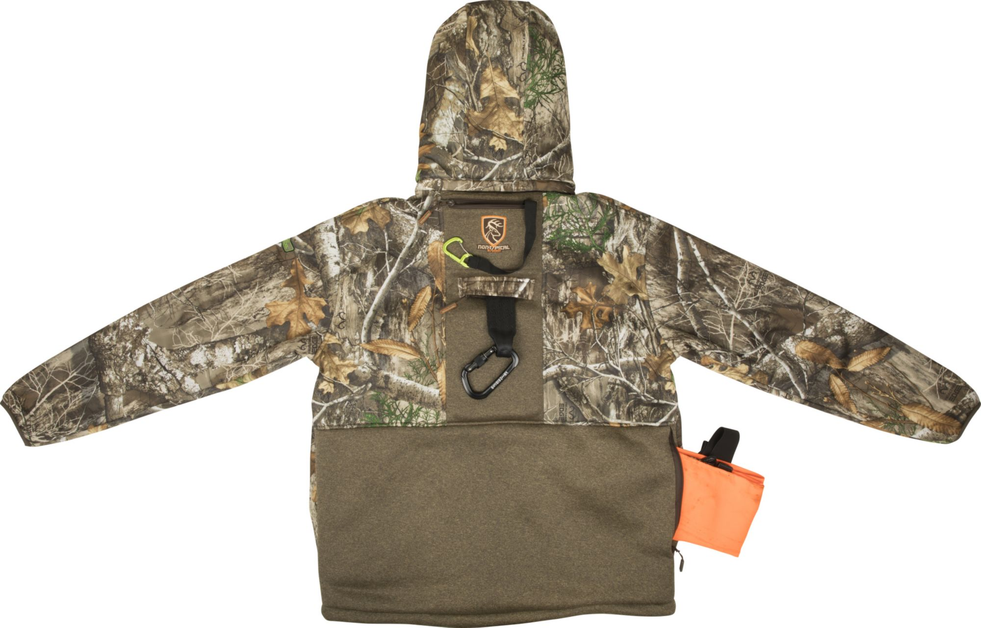 Drake Waterfowl Men's Non-Typical Stand Hunter's Silencer Hunting Jacket with Agion Active XL, Medium, Timber Realtree/AP