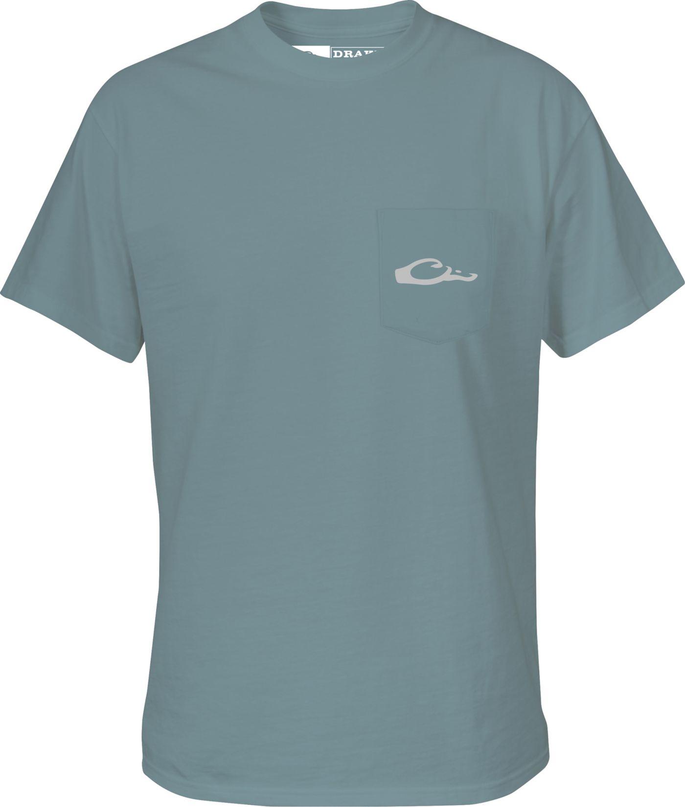 Drake Waterfowl Men's Standing Black Lab T-Shirt