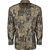 Drake Waterfowl Men's Tech 1/4 Zip Mesh Back Flyweight Turkey Hunting Shirt
