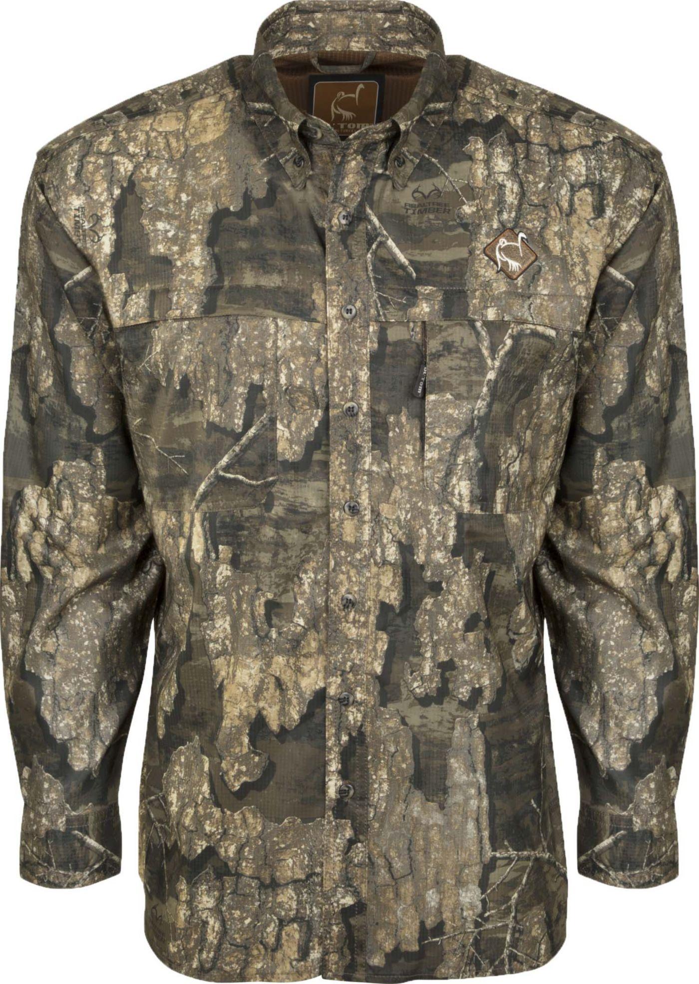 Drake Waterfowl Tech 1/4 Zip Mesh Back Flyweight Turkey Hunting Shirt