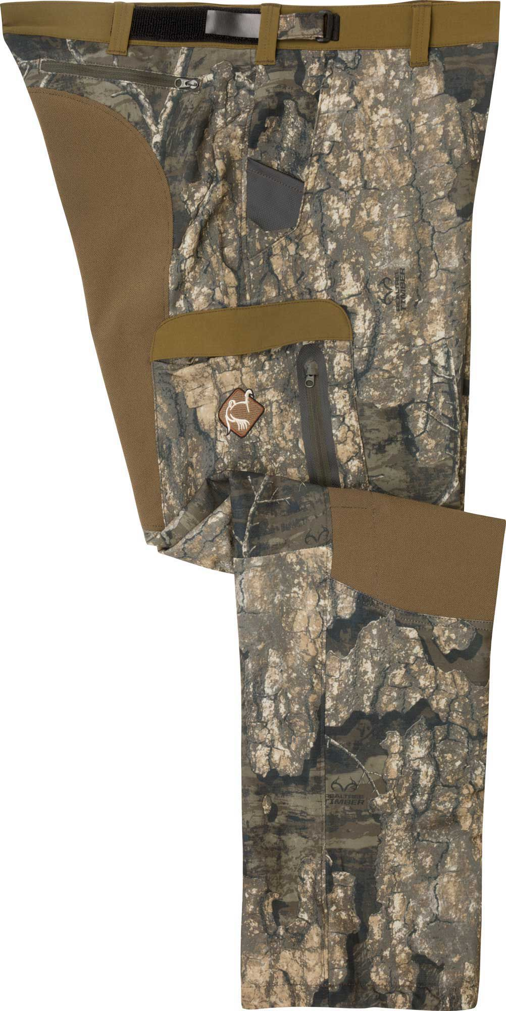 Drake Waterfowl Men's Tech Stretch Turkey Hunting Pants, Medium, Multi