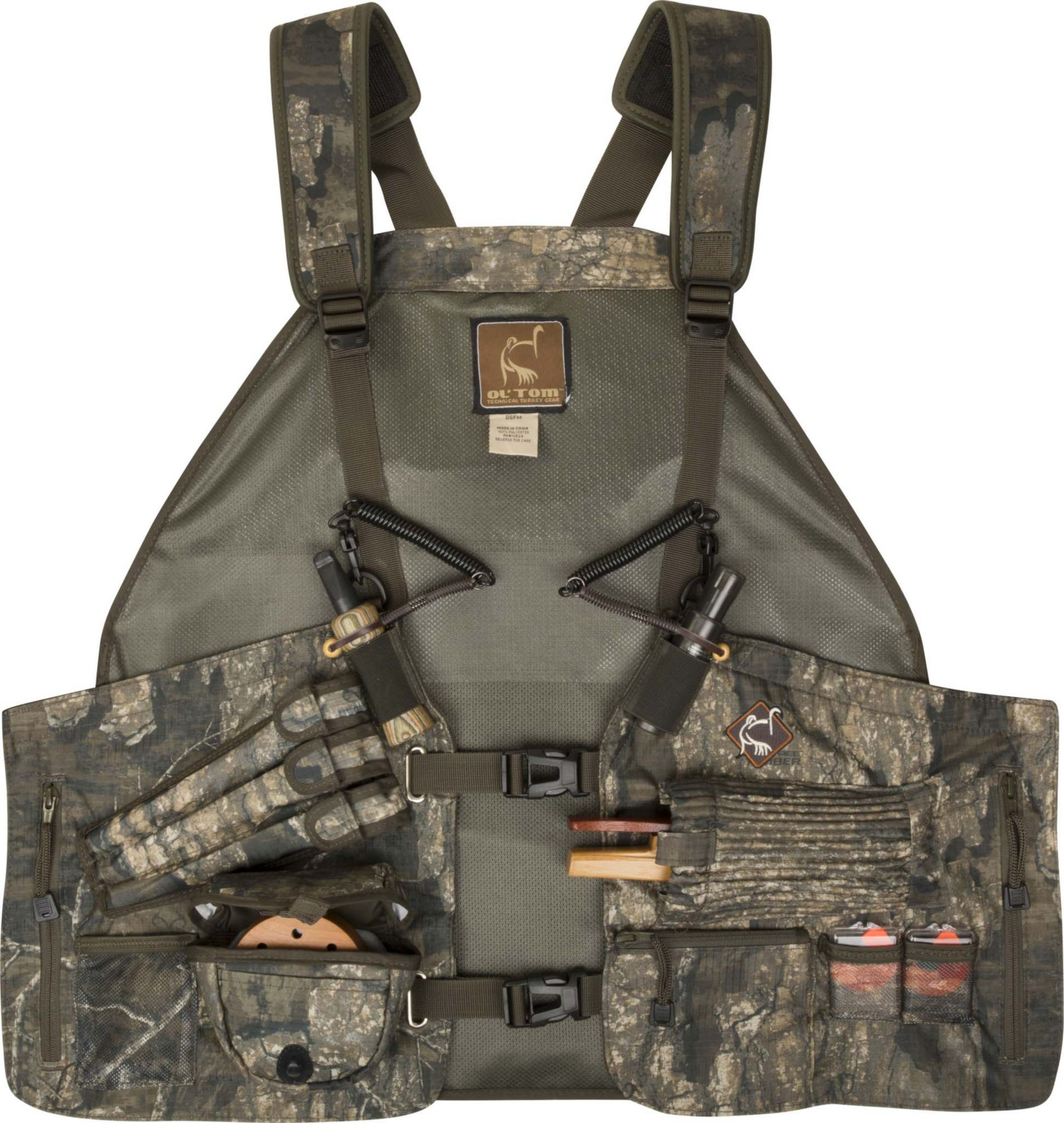 Ol' Tom Time & Motion Easy-Rider Turkey Vest, Men's, Multi