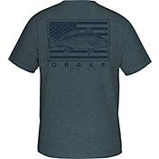 Drake Waterfowl Women's Fishing Patriotic Short Sleeve T-Shirt