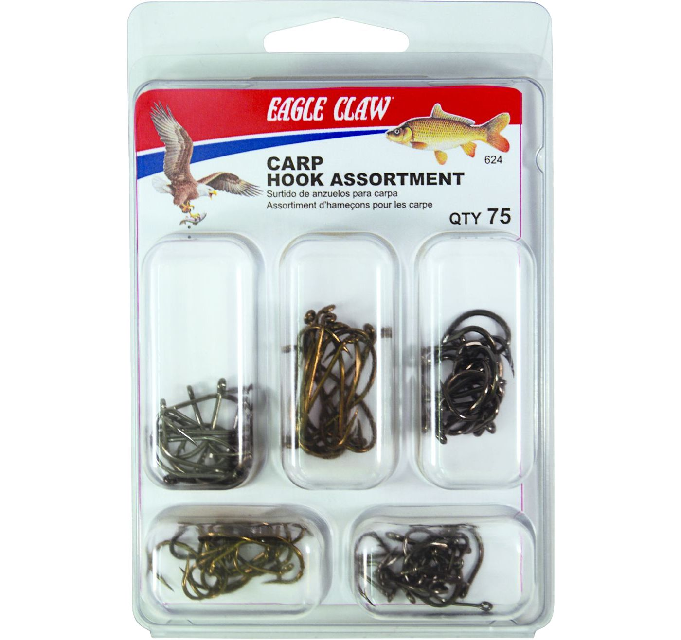 Eagle Claw Carp Hook Kit