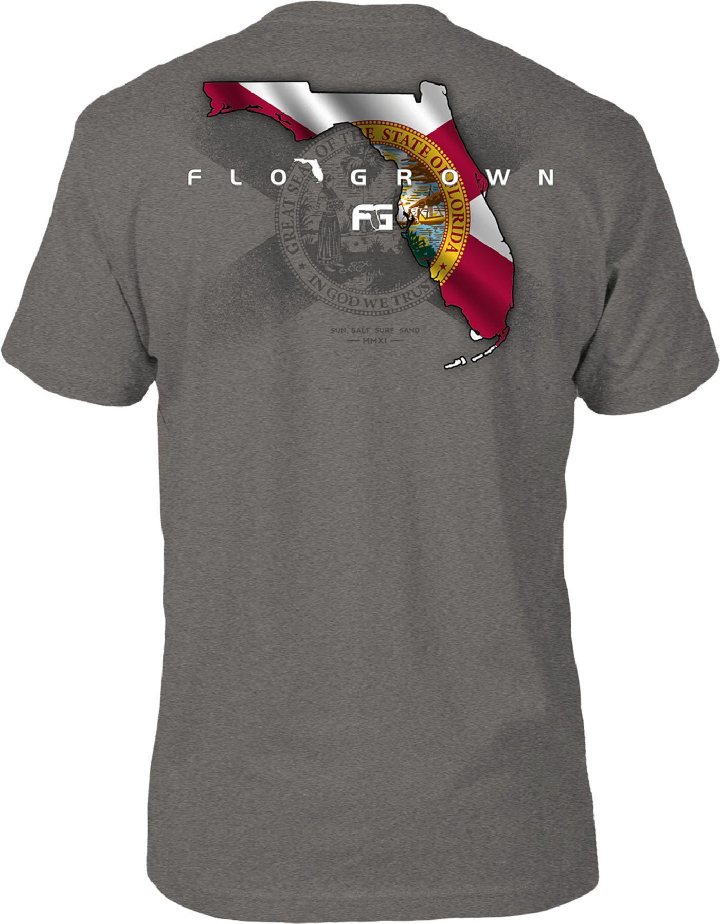 FloGrown Men's Florida Flag State T-Shirt