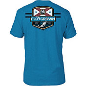 FloGrown Men's Saltwater Classic Badge T-Shirt
