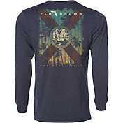 Flogrown Men's Sunset Flag Long Sleeve T-Shirt