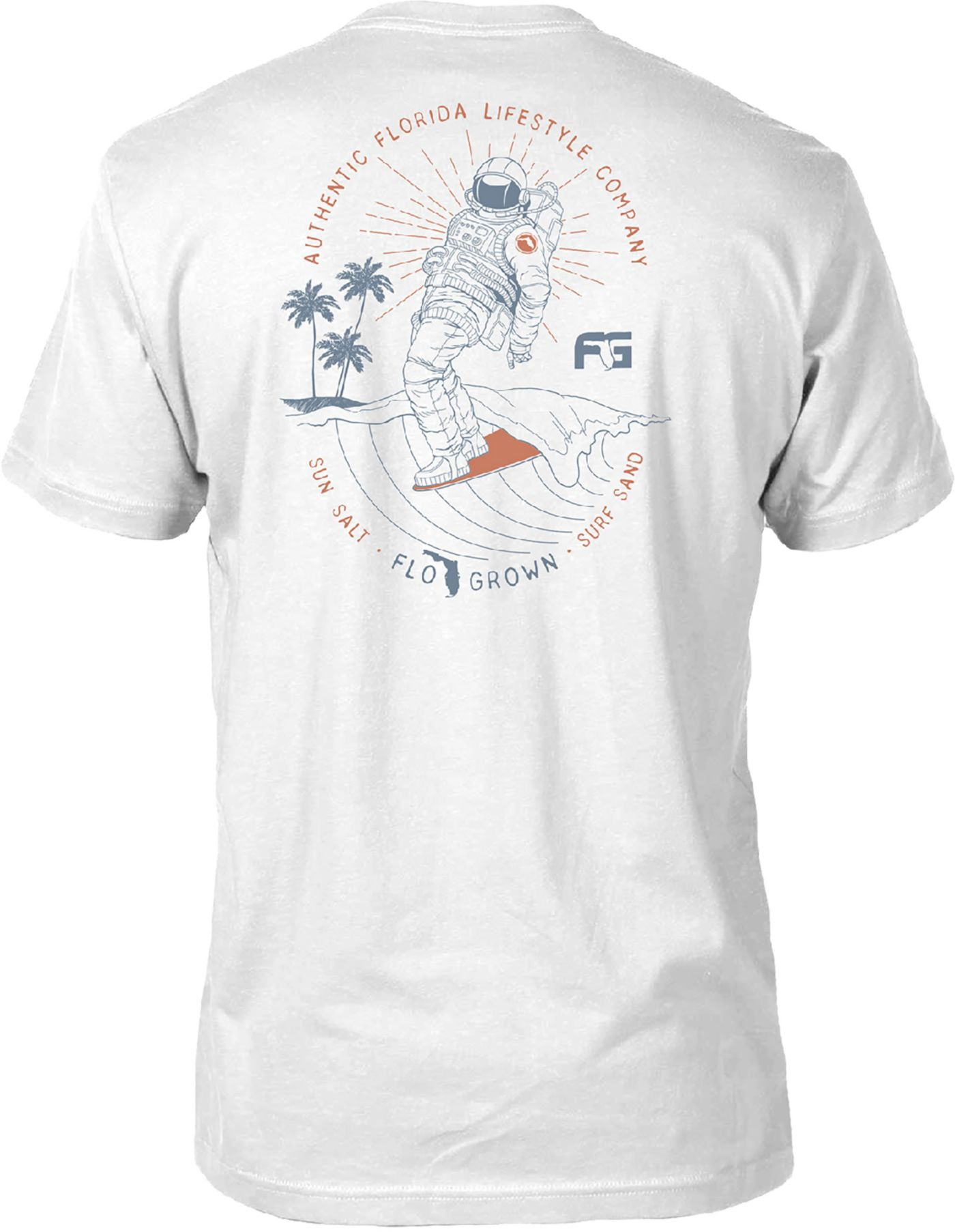 FloGrown Men's Space Coast Surf T-Shirt