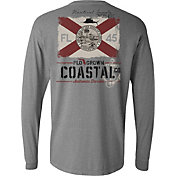 Flogrown Men's Vintage Flag Supply Long Sleeve Shirt