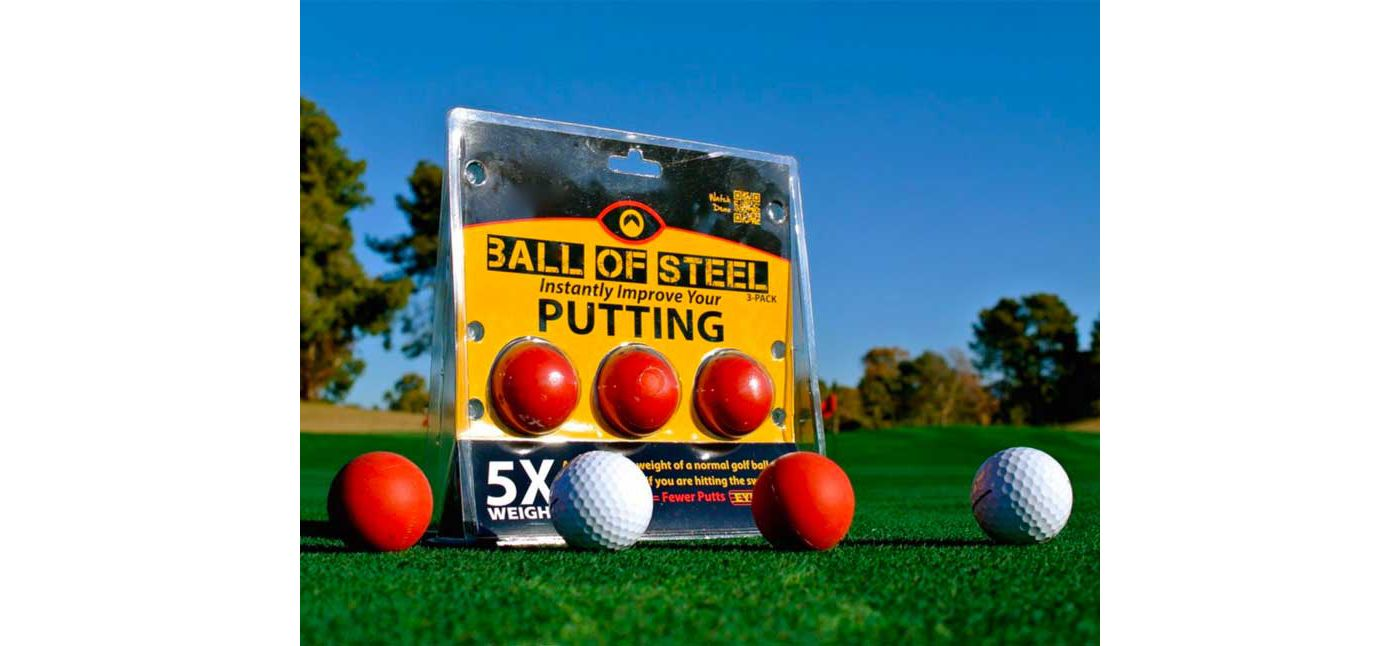 Eyeline Golf Ball of Steel - 3 Pack