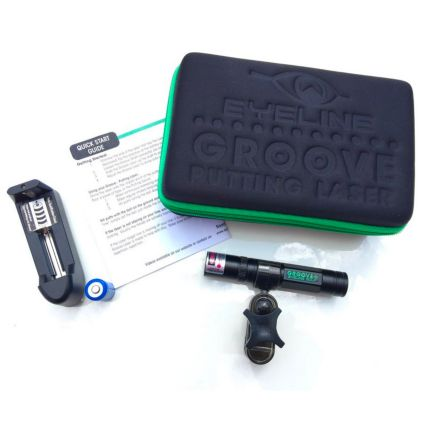 EyeLine Golf Groove+ Putting Laser with Green Beam
