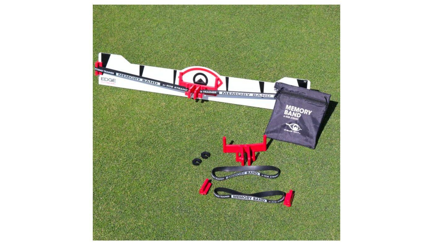 EyeLine Golf Memory Band System for Edge Putting Rail