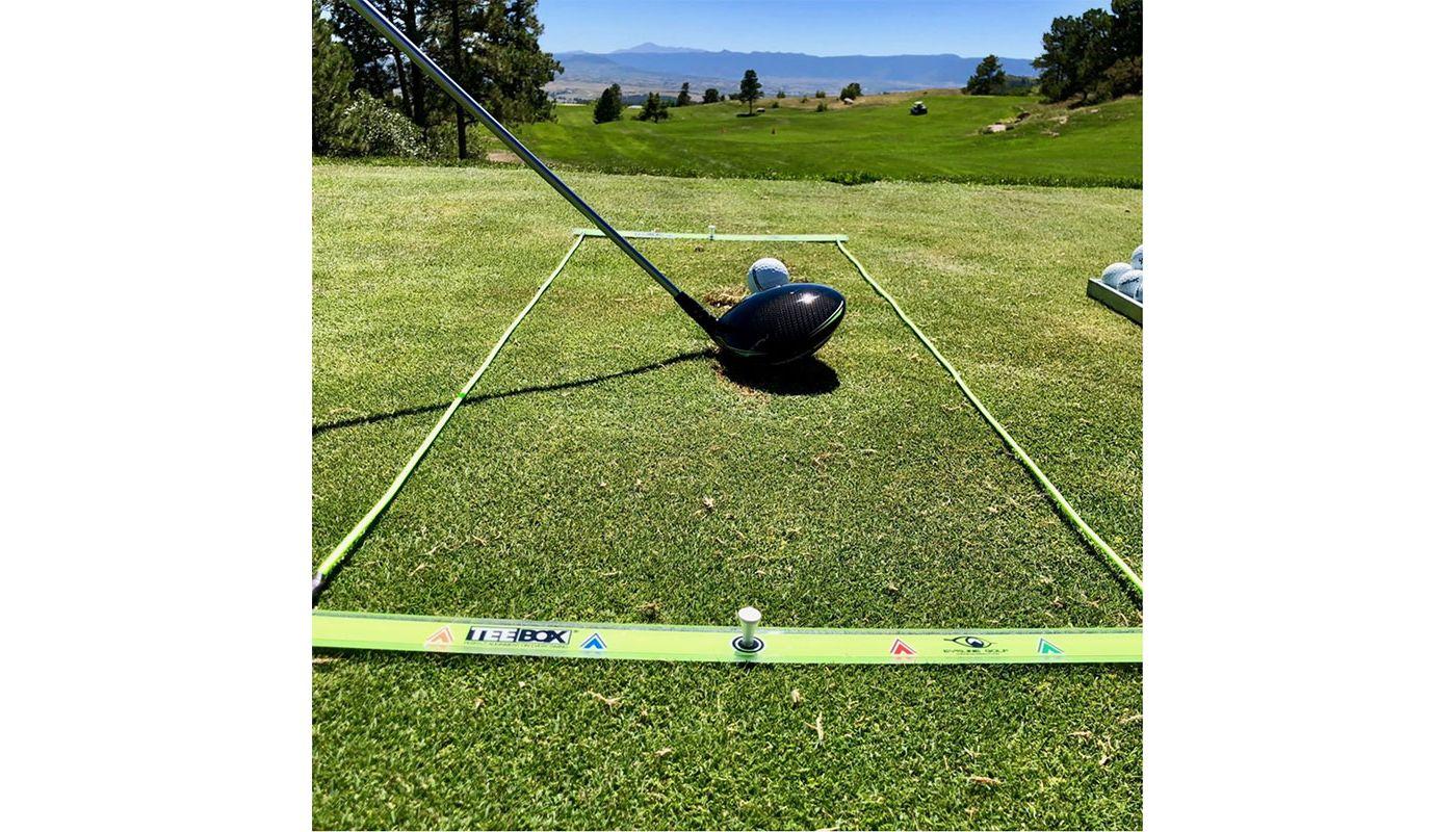 EyeLine Golf Tee Box Alignment Station