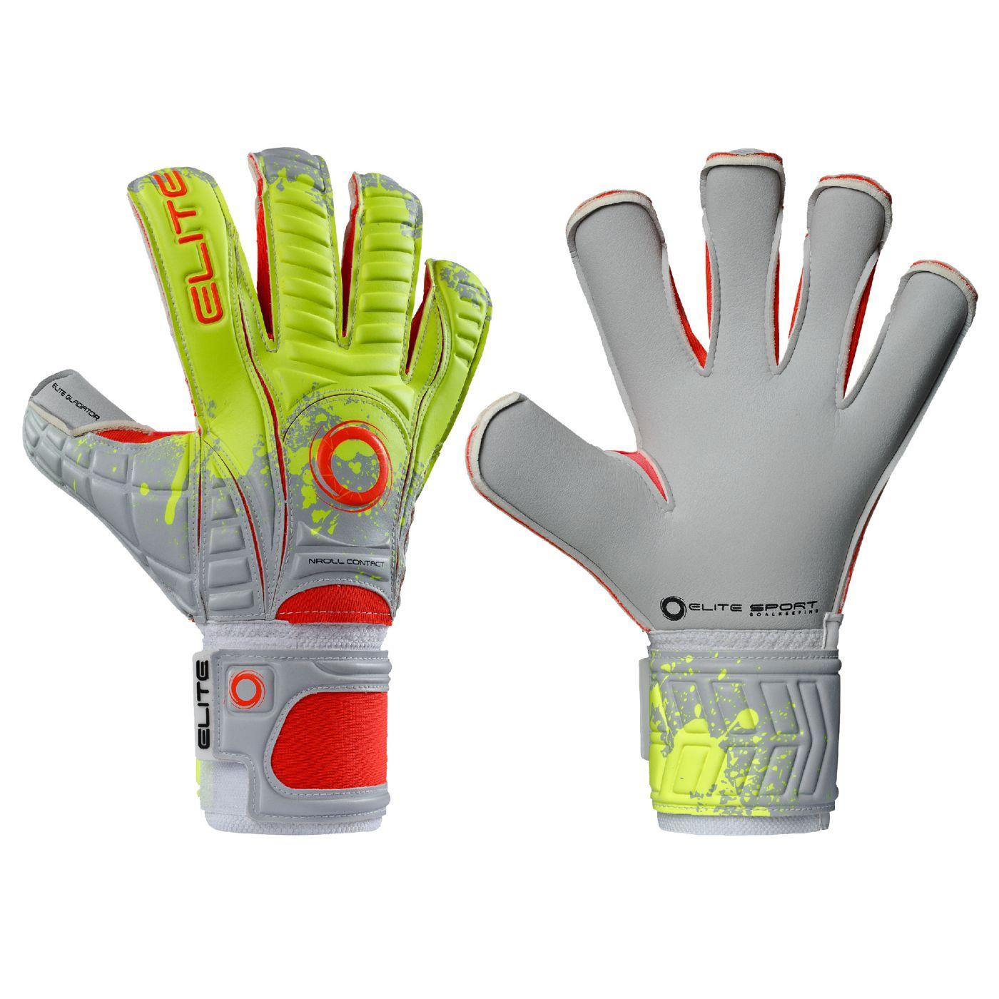 Elite Gladiator Soccer Goalkeeping Gloves