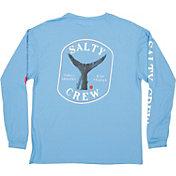 Salty Crew Men's Fishstone Tech Long Sleeve Shirt