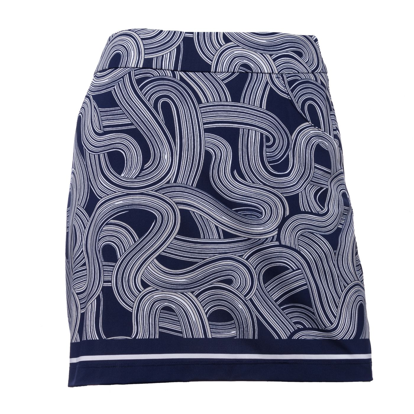 "EP Pro Women's 17.5"" Spiral Print Pull-On Golf Skort"