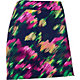 EP Pro Women's Modern Watercolor Floral Print Golf Skort