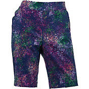 EP Pro Women's Starburst Print Compression Golf Shorts