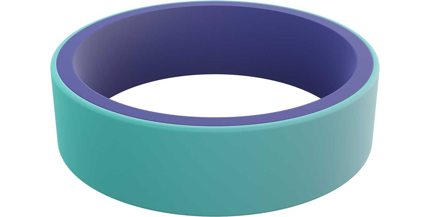 QALO Women's Switch Reversible Silicone Ring