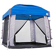 E-Z UP 5 Person Angled Screen Cube