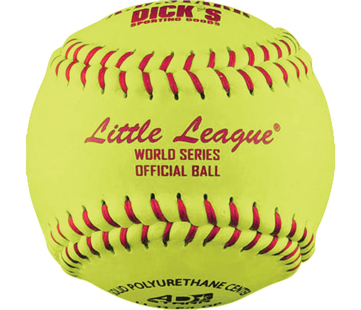 """A.D. STARR 11"""" Little League World Series Spirit Fastpitch Softball"""