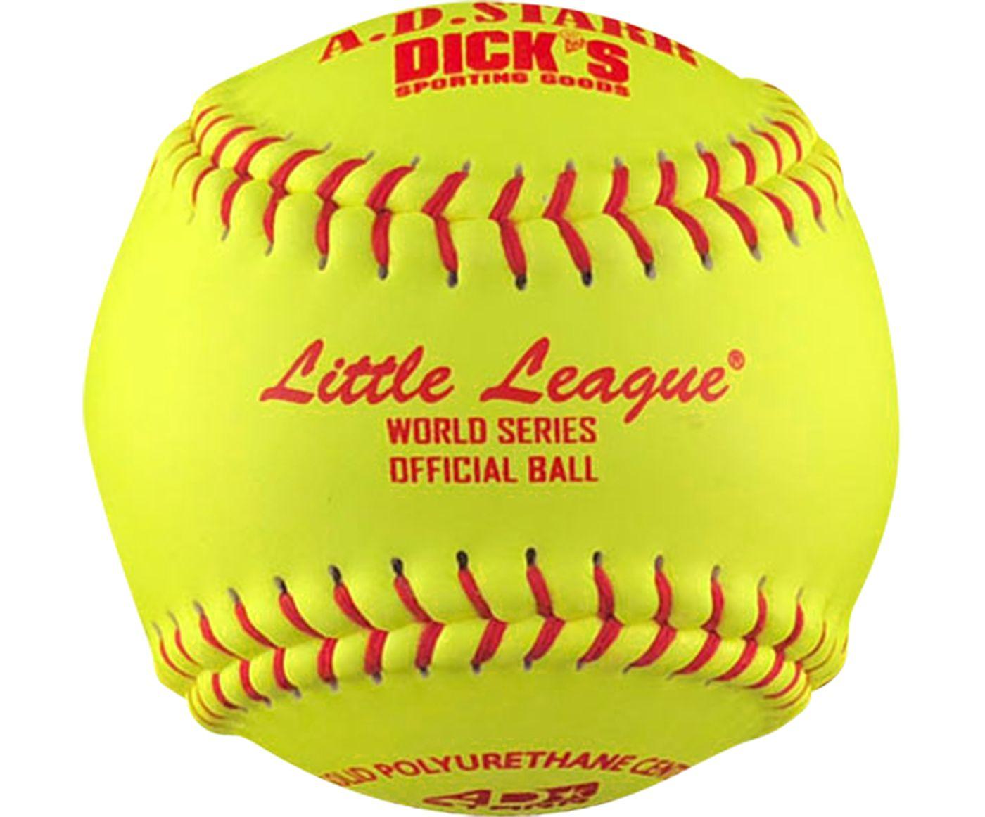 """A.D. STARR 12"""" Little League World Series Spirit Fastpitch Softball"""
