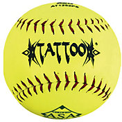 "A.D. STARR 12"" ASA Tattoo Slow Pitch Softball"