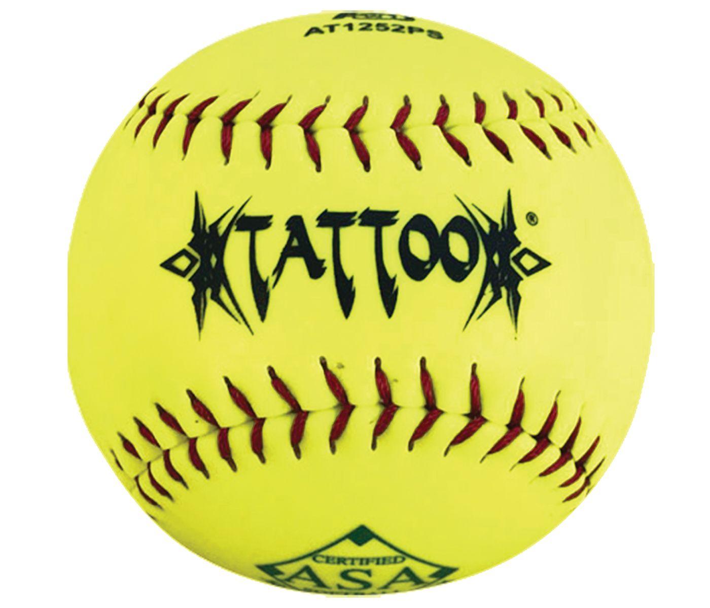 """A.D. STARR 12"""" ASA Tattoo Slow Pitch Softball"""