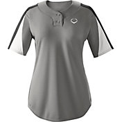 EvoShield Girls' E601 2-Button Placket Softball Pullover