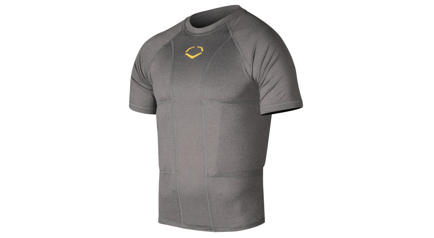 EvoShield Adult Performance Football Rib Shirt with Shields