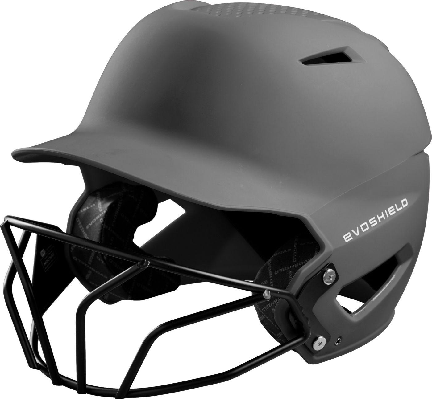 EvoShield Youth XVT Matte Batting Helmet w/ Mask 2020