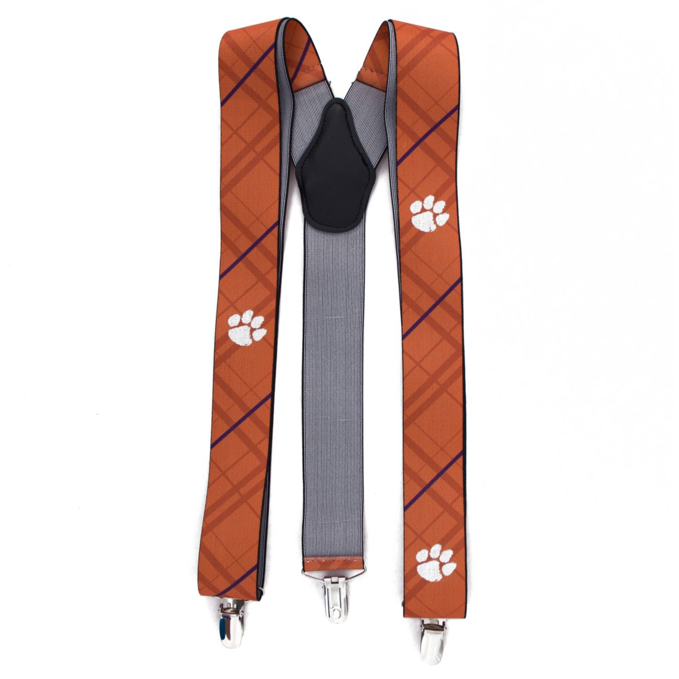 Eagles Wings Clemson Tigers Oxford Suspenders