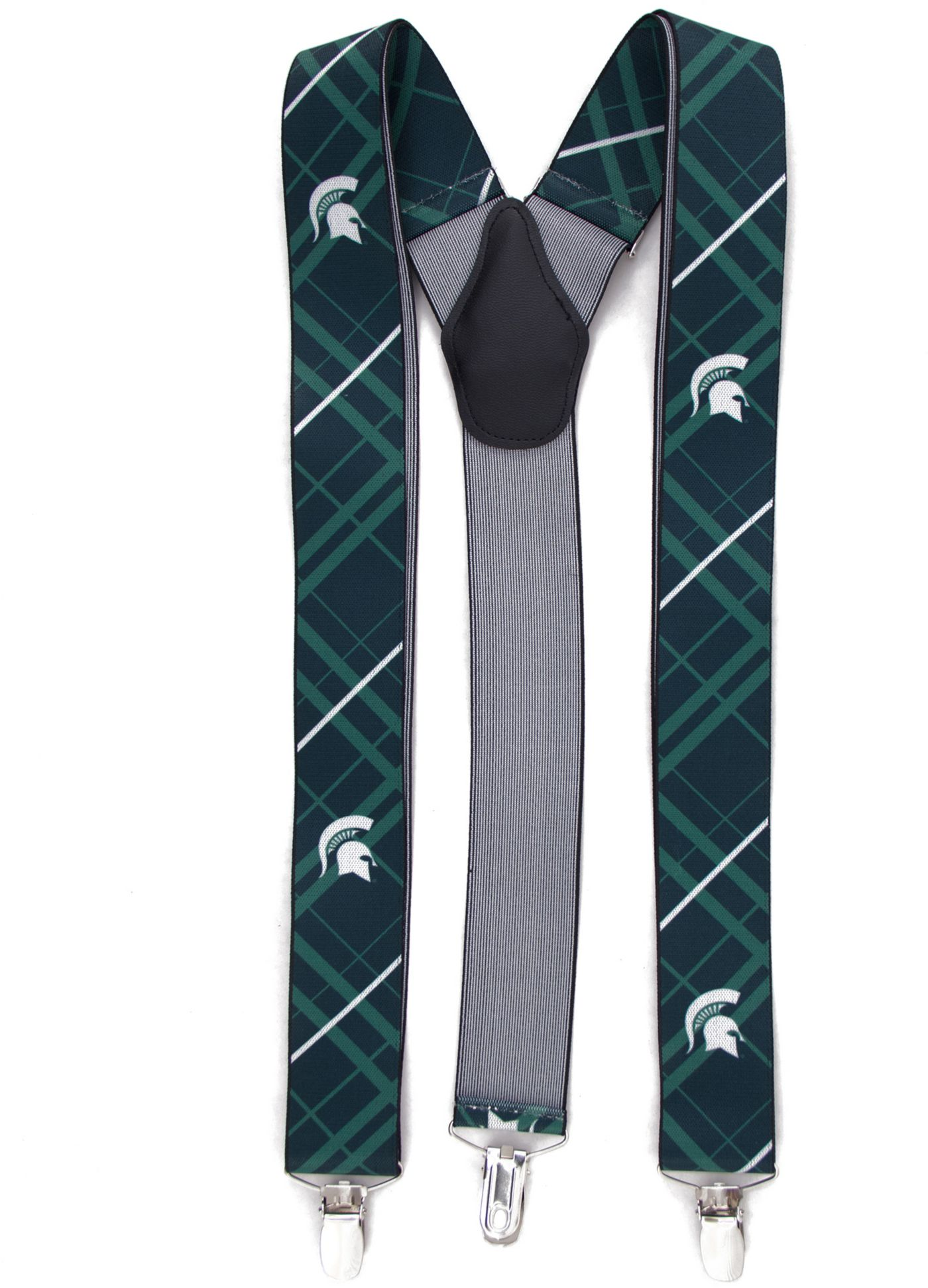 Eagles Wings Michigan State Spartans Oxford Suspenders