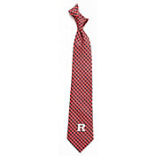 Eagles Wings Rutgers Scarlet Knights Gingham Necktie