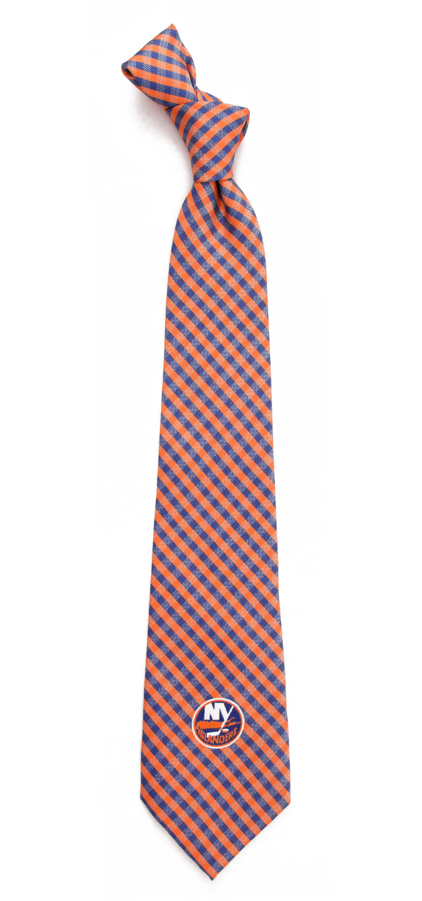 Eagles Wings New York Islanders Gingham Necktie