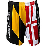 Fit 2 Win Men's Maryland Terrapins Maryland Pride Flag Shorts