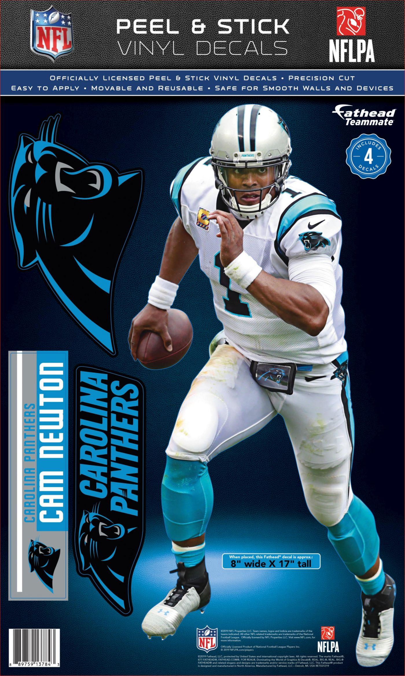 Fathead Carolina Panthers Cam Newton Teammate Wall Decal