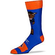 For Bare Feet Boise State Broncos Thin Crew Socks