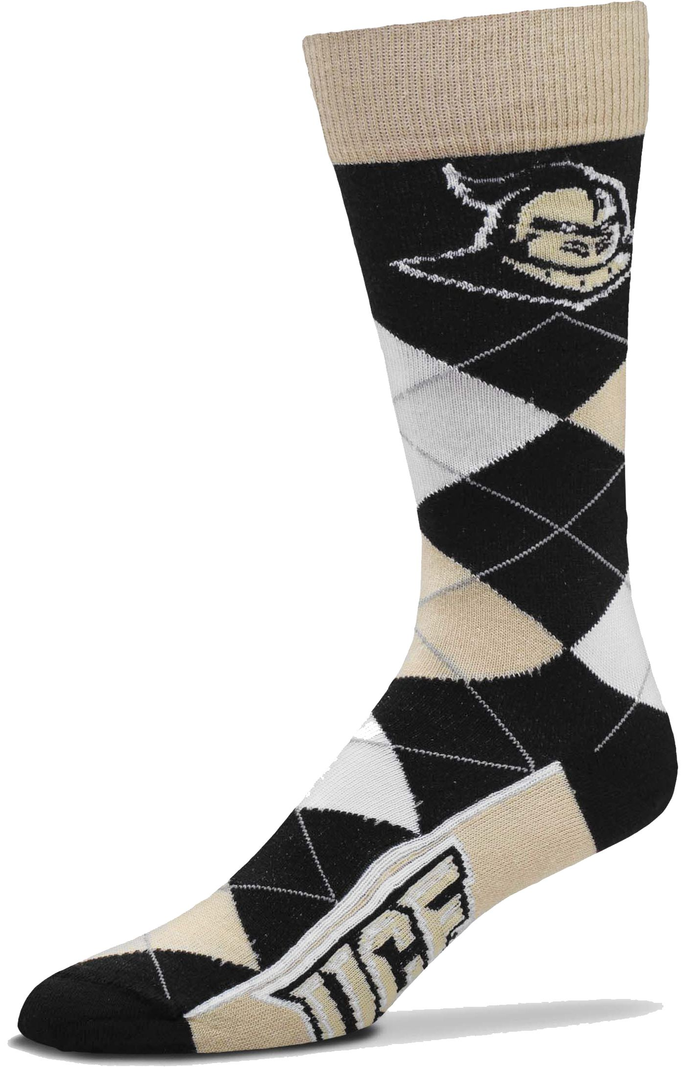 For Bare Feet UCF Knights Argyle Socks