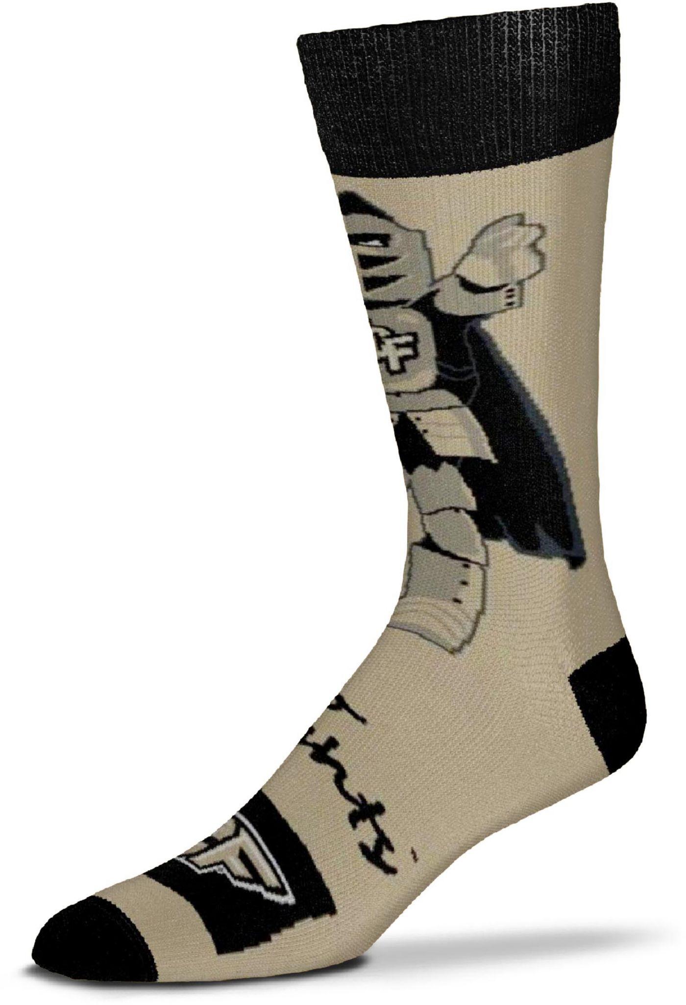 For Bare Feet UCF Knights Thin Crew Socks