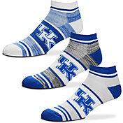 For Bare Feet Kentucky Wildcats 3 Pack Socks